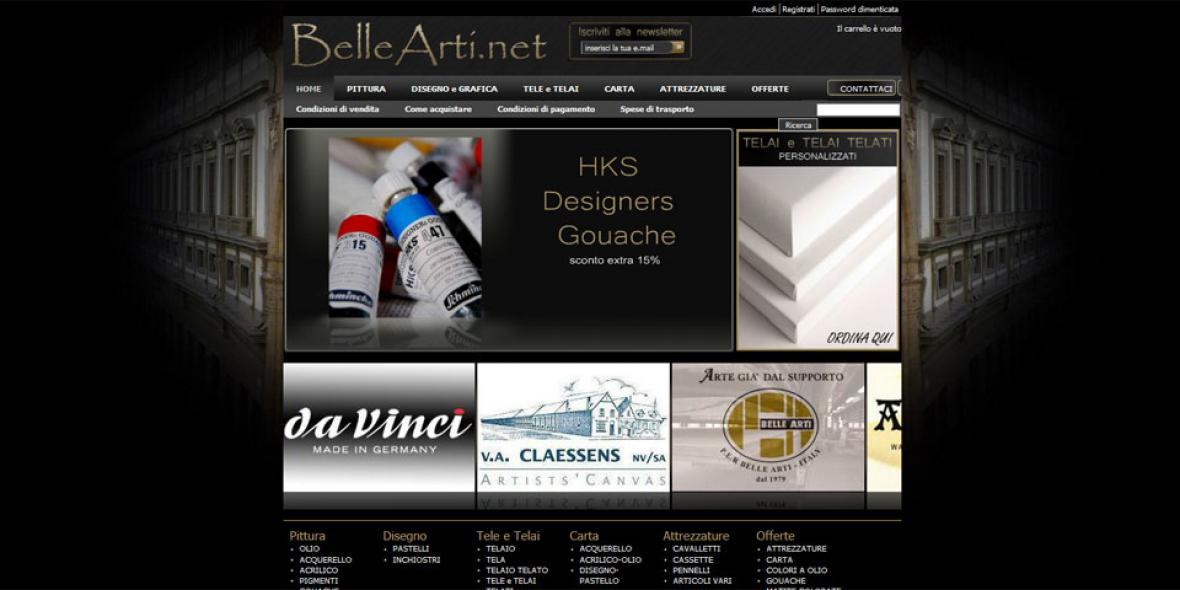 ecommerce bellearti.net